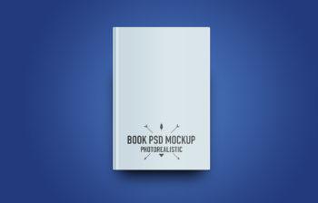 Book Free PSD Mockup