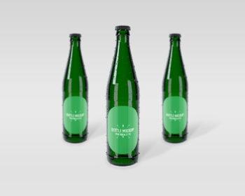 Bottle Free PSD Mockup
