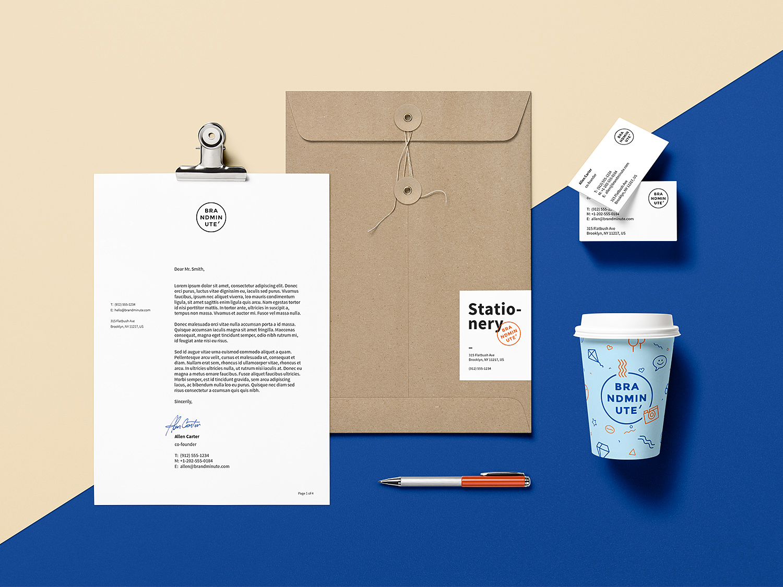 Branding Identity Free Mockup