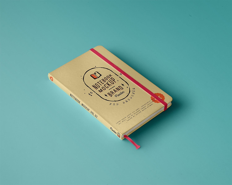 Classic Notebook Free Mockup