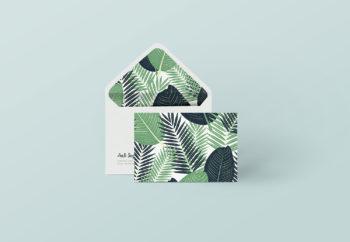 Envelope Branding Presentation Mockup