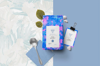 Free Packaging Pouch Mockup