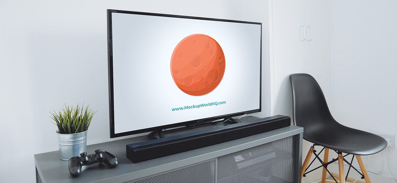 Free TV Mockup PSD