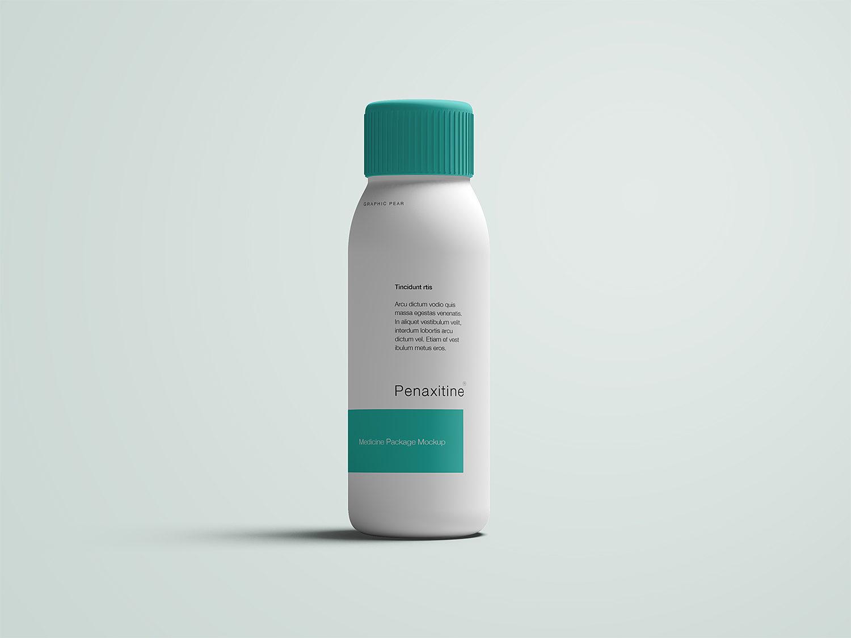 Plastic Bottle Free Mockup