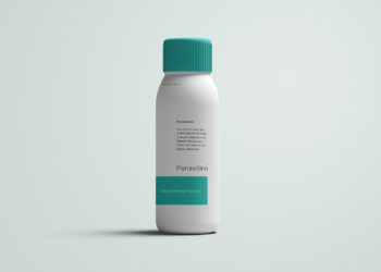 Plastic Bottle Free Mockup