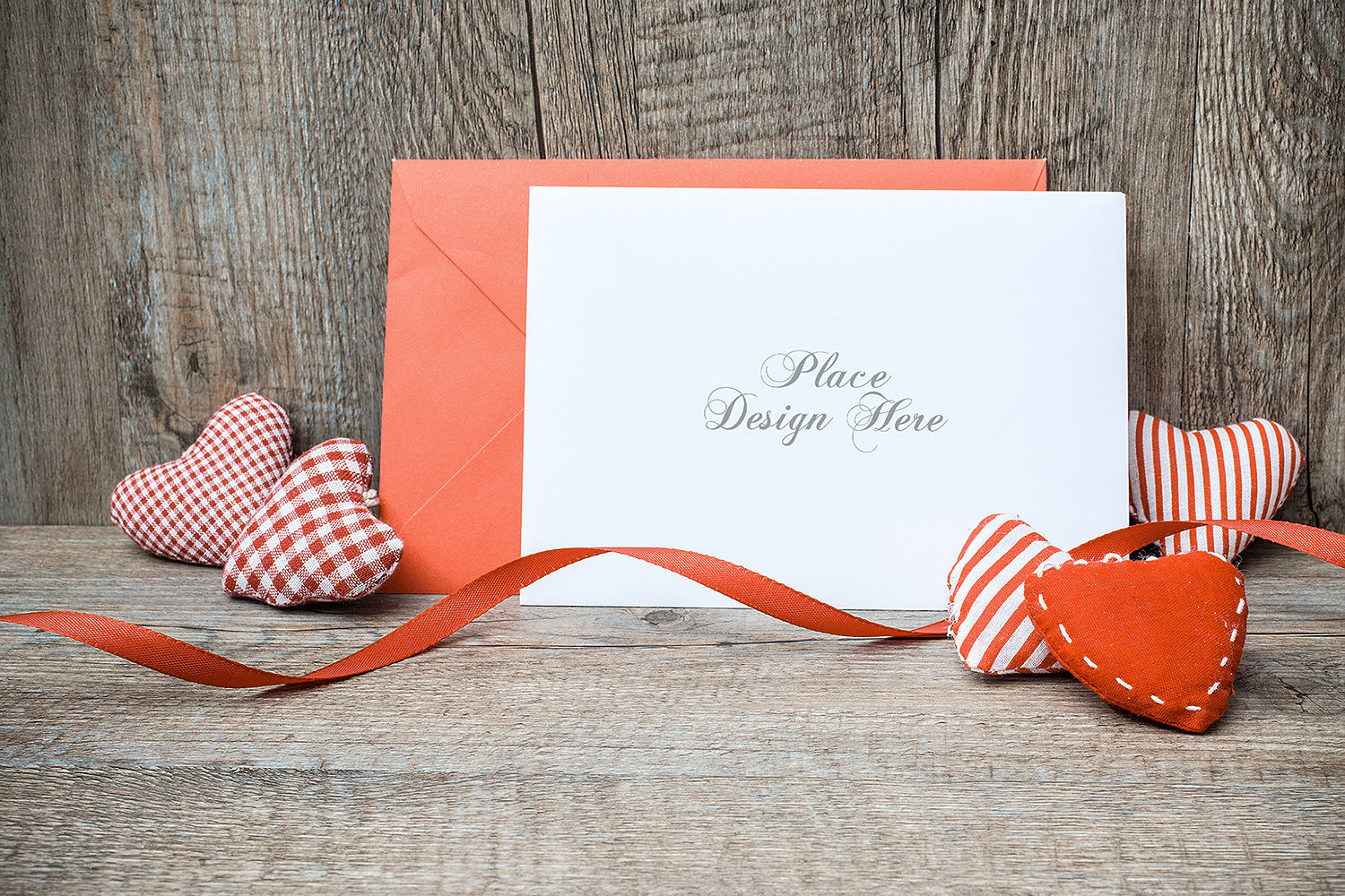 Greeting Card Free Mock-Up PSD Template