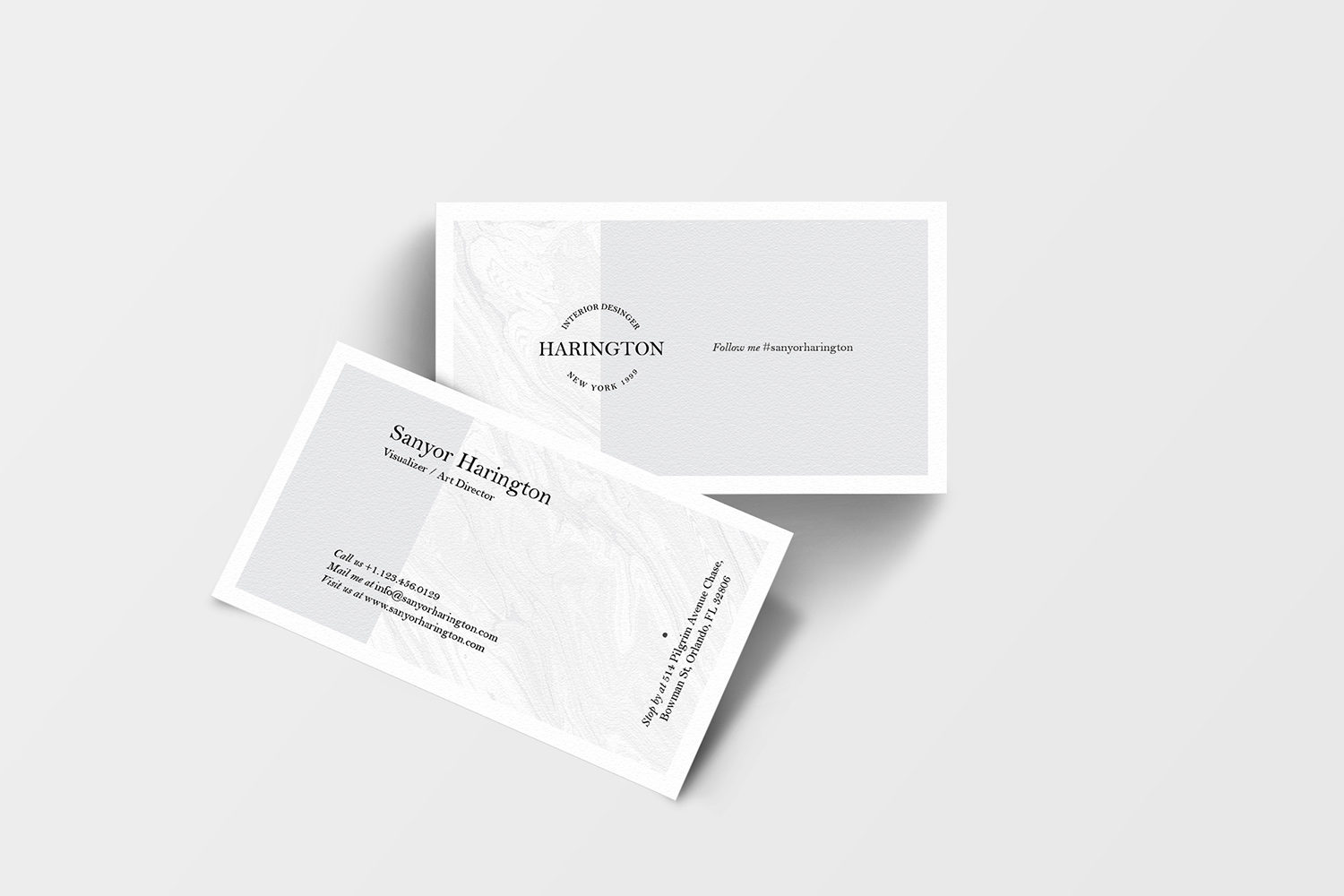 Exceptional Business Card Free Mockup Bundle