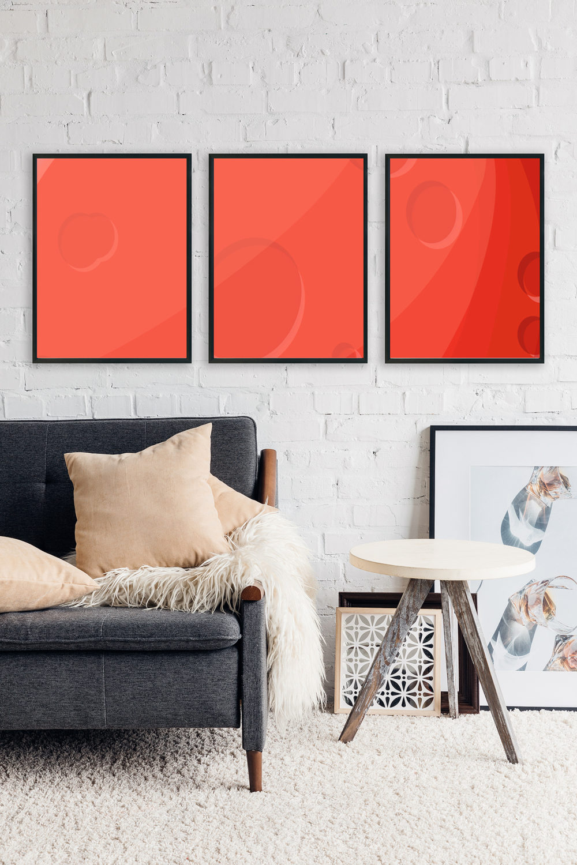 Free Artwork Frame PSD Mock-Ups