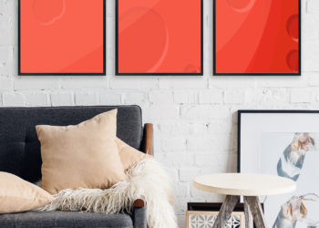 Free Artwork Frame PSD Mock-Ups