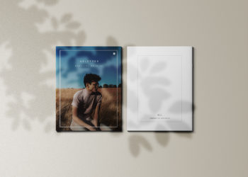 Free Brochure Cover Mockup