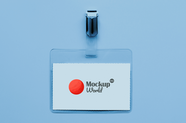 Free Card Holder Mockup