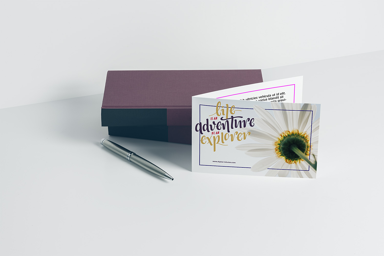 Free Greeting Card Mockup v3