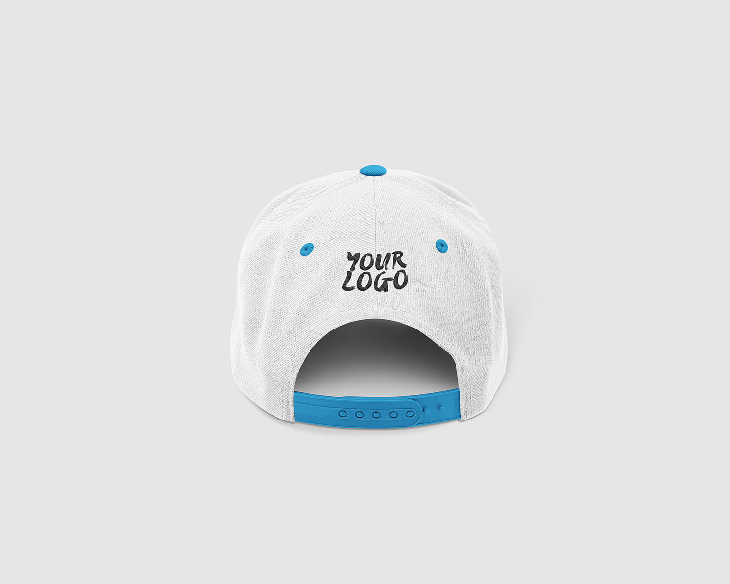 Free Label Exhibition Cap Mockup