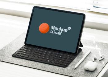 Free New iPad Pro Mockup