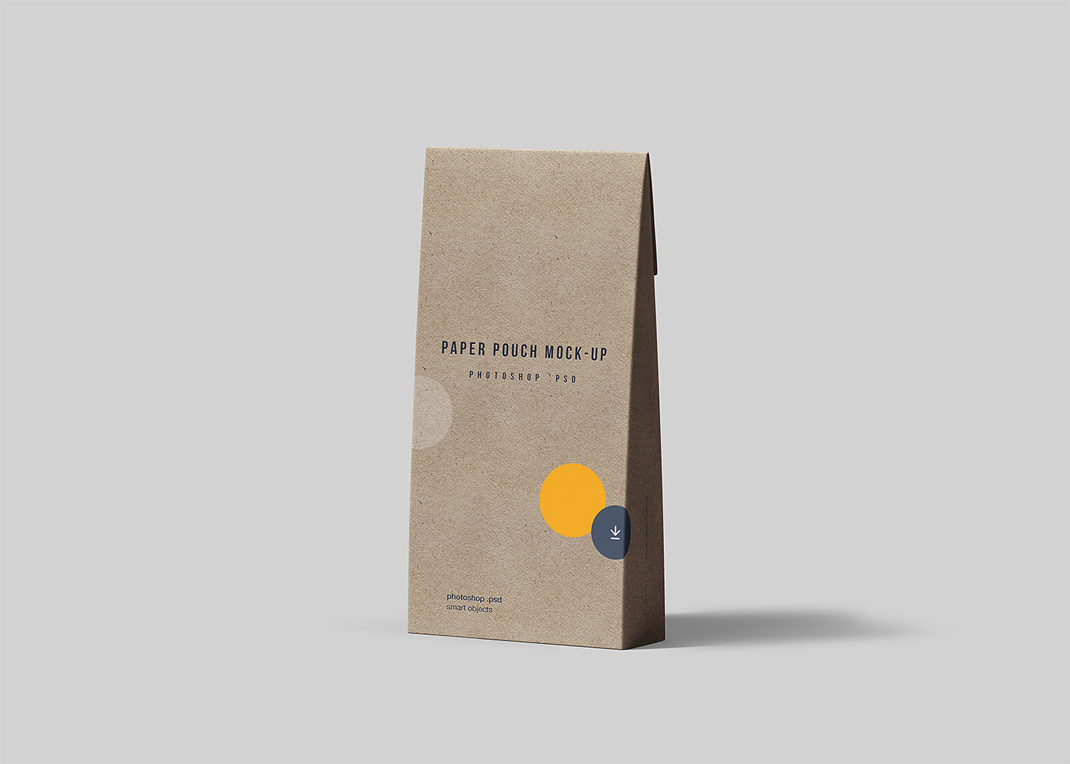 Free Paper Pouch Mockup