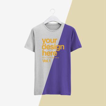 Free Realistic T-Shirt Mockup