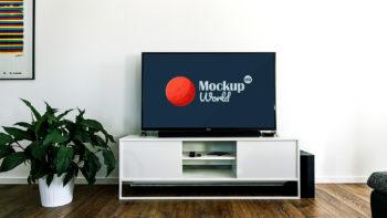 Free Smart TV Mockup