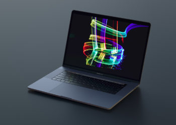 MacBook Pro Sketch Photoshop Mockup