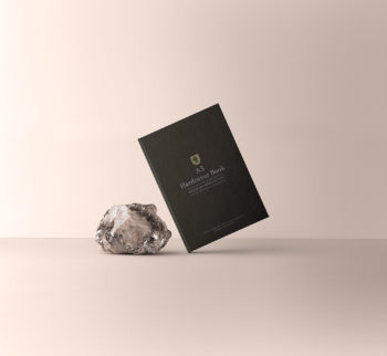 Free A5 Book Mockup Hardcover