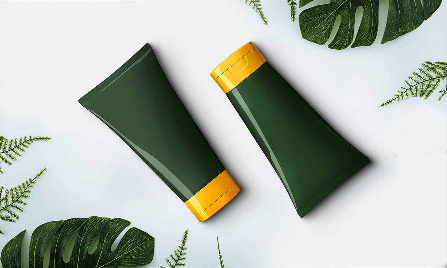 Free Cosmetics Cream Tube Mockup