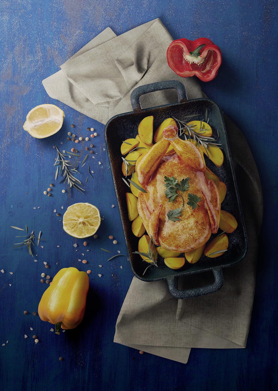Food Packaging Scene Creator Mockup