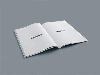 Free A4 Magazine Mockup PSD