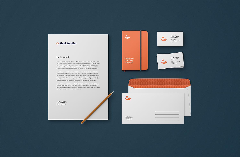 Free Identity Branding PSD Mockup