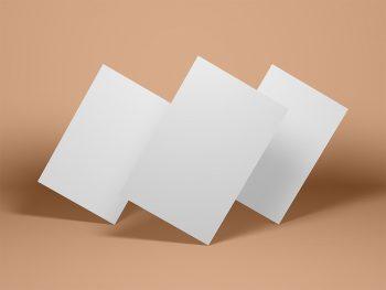 Free Letterhead Branding Mockup