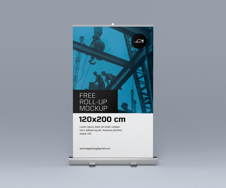 Free Roll-Up Mockup
