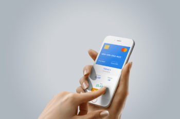 Free iPhone Mockup in Hand