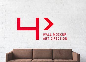 Free Brick Wall Mockup