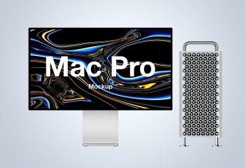 Free Mac Pro Mockup