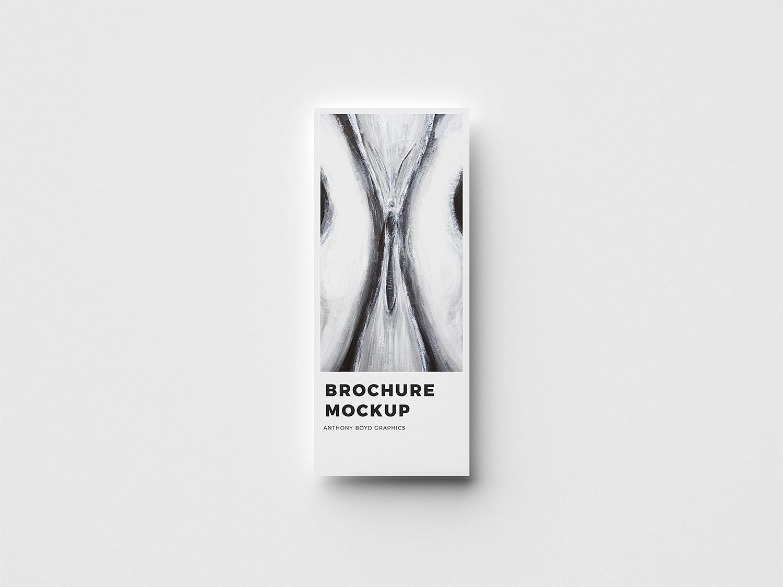 Free Vertical Modern Brochure Mockup