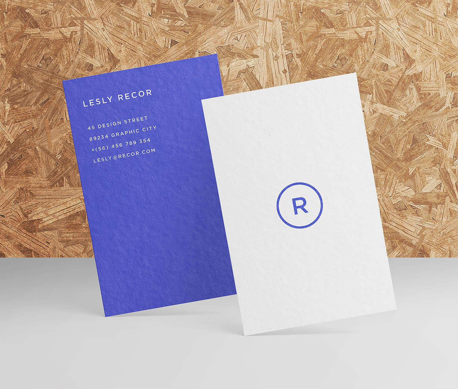 Free Business Card Mockups
