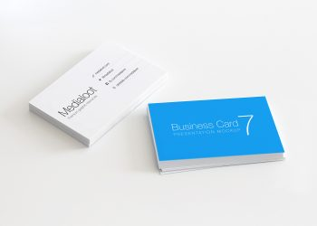 Business Card Stationery Mockup