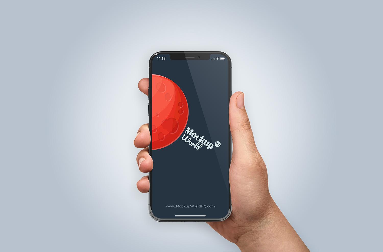 Free iPhone X Mockup