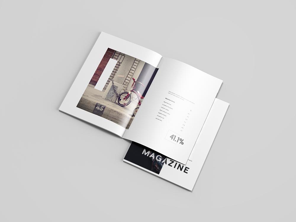 Free Letter-Size Magazine Mockup