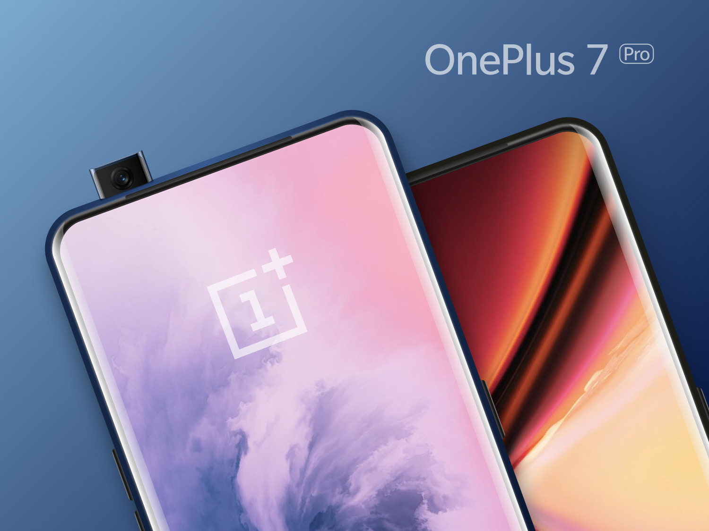 Free OnePlus 7 Pro Mockups