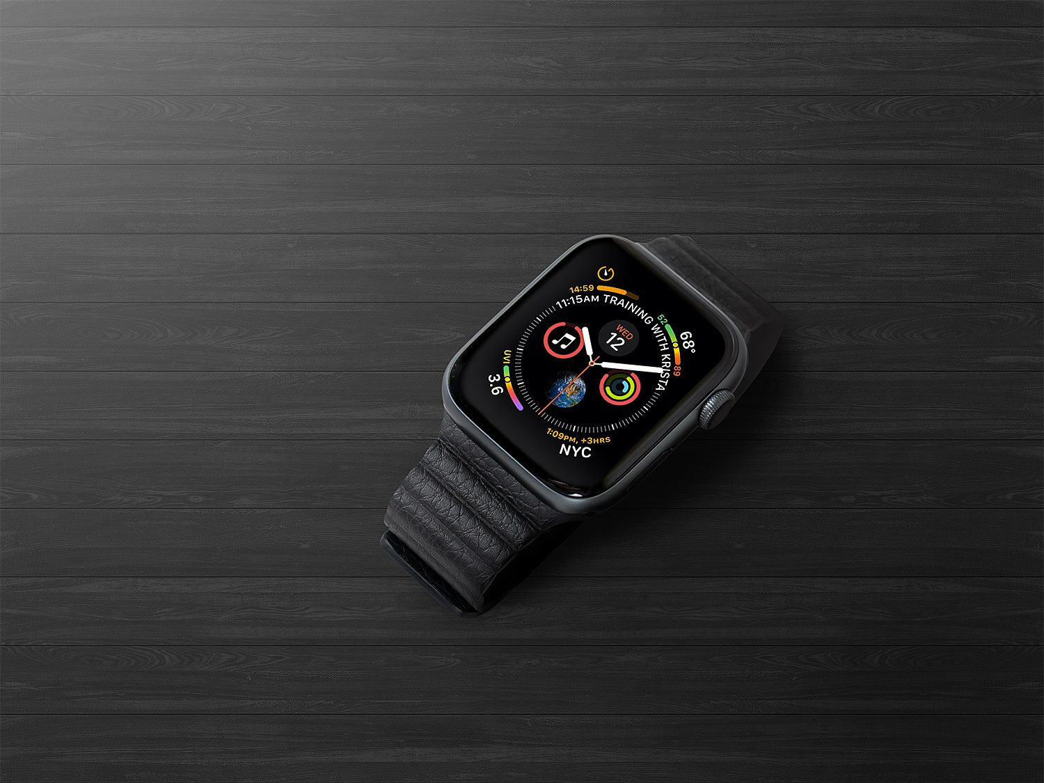 Free Apple Watch Series 4 Mockup
