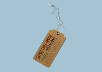 Free Label Tag Design Mockups