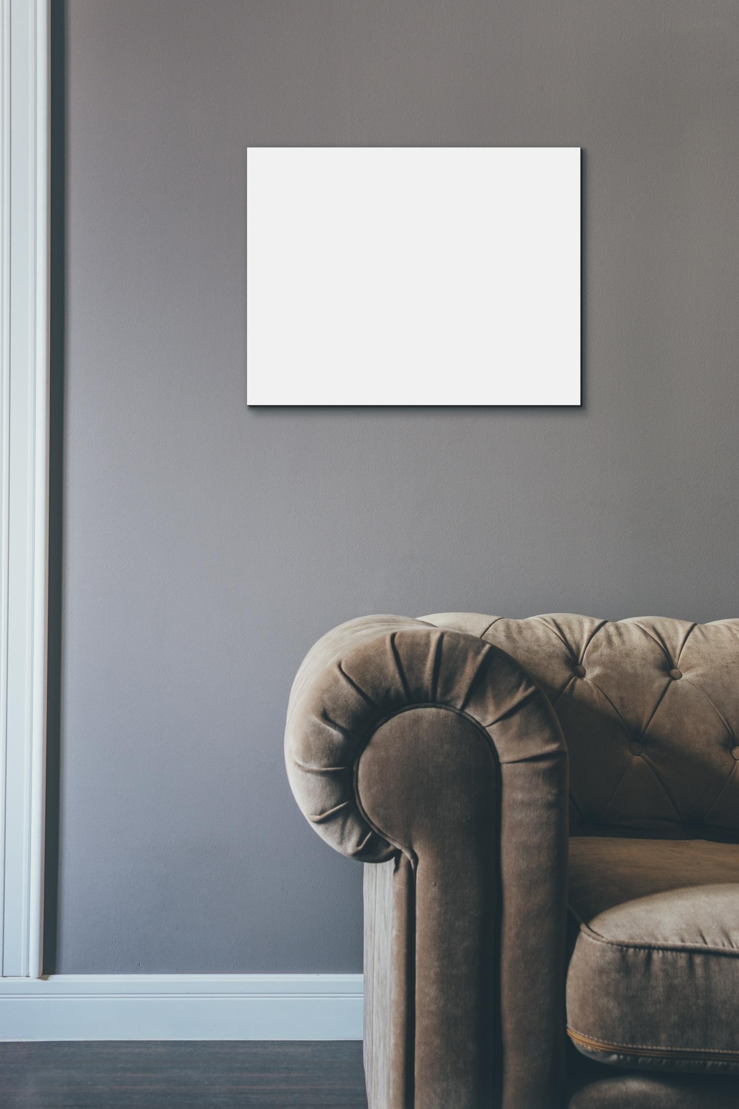 Free Horizontal Frames Wall Mockups
