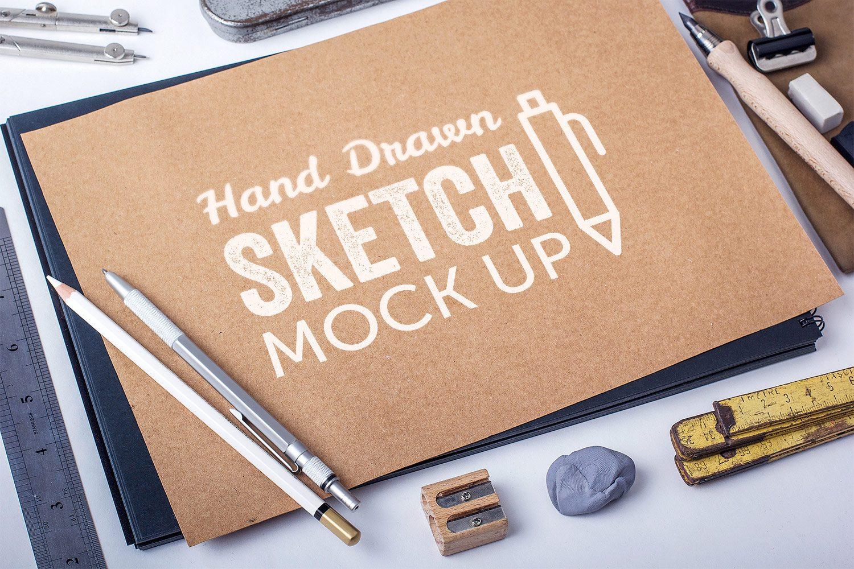 Hand-Drawn Sketch Mockups