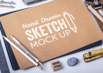 Hand-Drawn Sketch Mockups