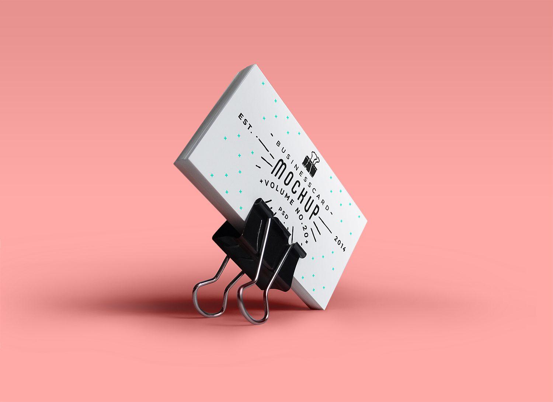 PSD Business Card Mock-Up