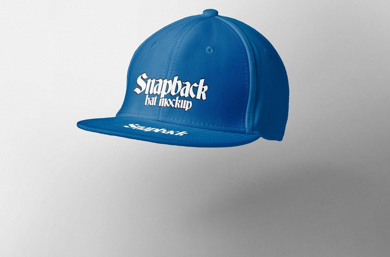 Free Attractive Snapback Mockup