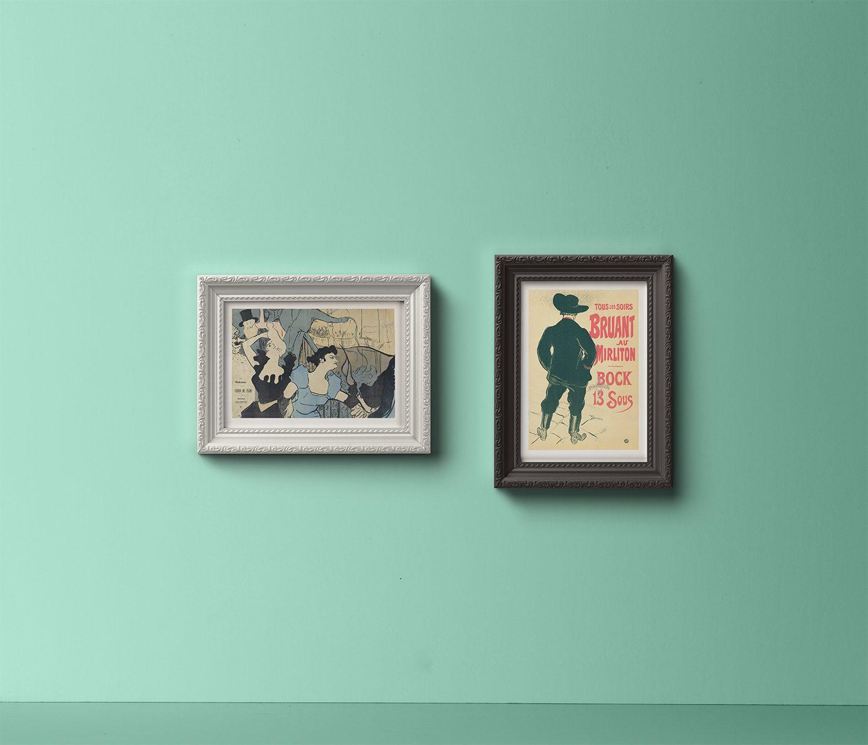 Ornamental PSD Frame Mockup