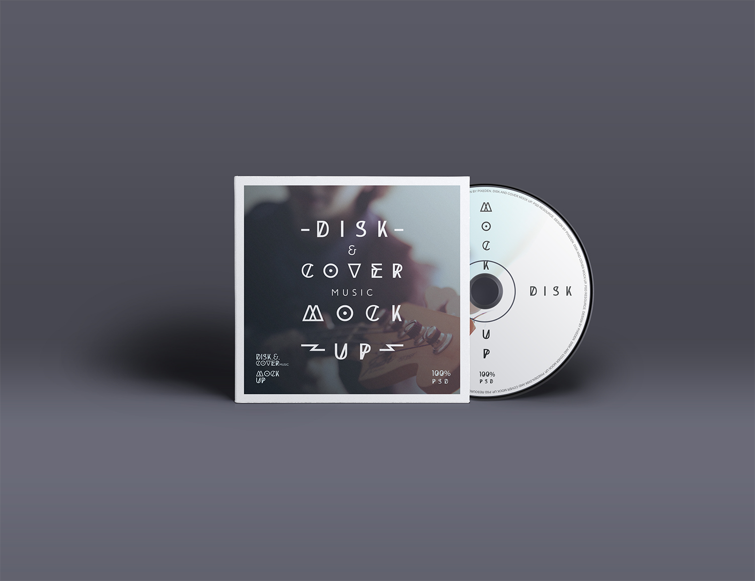 PSD CD Cover Disk Mock-Up
