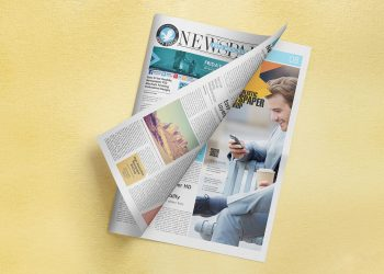 Free Newspaper Adverts Mockup