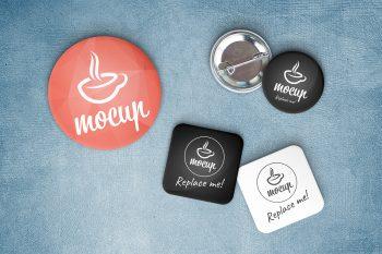 Button Badge Mockup Generator