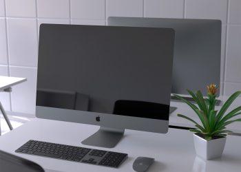 iMac Pro PSD Mockup